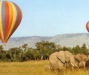 Baloon  flight  in  Masai Mara