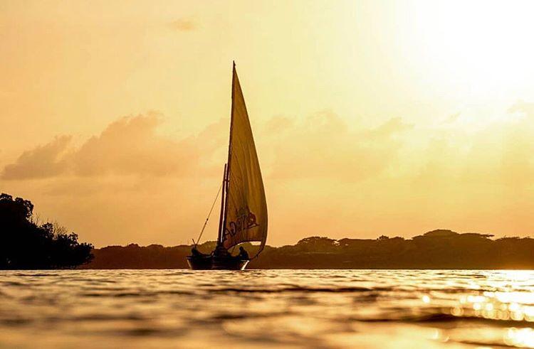 Sunset in Lamu