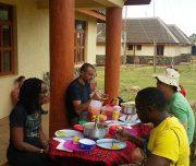 meals while on mt Kenya